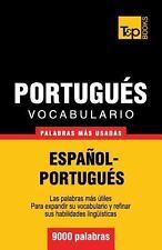 Vocabulario Español-Portugués - 9000 Palabras Más Usadas by Andrey Taranov...