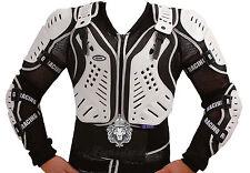 Protektorenjacke  Protektorenhemd Brustpanzer Safety Jacket XS bis 5XL  NEU