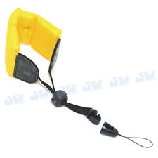JJC Floating Flotation Wrist Strap For Waterproof Cameras Camcorders Yellow