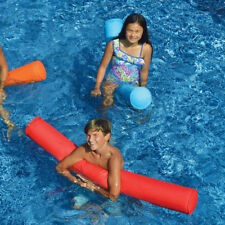 "Swimline 55"" Sunsoft Fabric Covered Pool Doodle Float Noodle - Blue & Red 2 Pack"