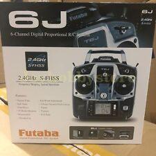 Futaba 6J 2.4GHz S-FHSS Transmitter & RX RC Helicopter Radio w/ R2006GS Mode I