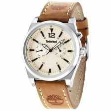 Men's Watch TIMBERLAND TBL14642JS/07 BRANT MULTIFUNCTION Leather and steel