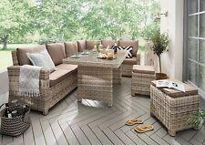 Destiny Loungegruppe Alcudia Mixed Beige Lounge Garnitur Dininglounge