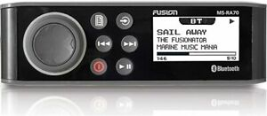 Fusion MS-RA70 Stereo with 4x50W AM/FM/Bluetooth 2-Zone USB Wireless Control