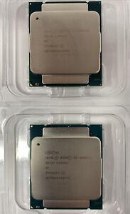 Matched Pair SR1XP INTEL XEON CPU E5-2680V3 2.50GHZ 30M 12 CORES 9.6 GT/s 120W