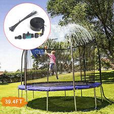 12M Kinderspiel Trampolin Wassersprinkler Outdoor Garten Spaß Sprühschlauch Set