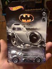 Batmobile Chrome Chase Batman 80 Years Hot Wheels 5/6 Rare Treasure Hunt