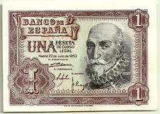 BILLETE DE 1 PESETA DE 1953 (SC-) MARQUÉS DE SANTA CRUZ (SERIE R)