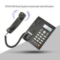 Schnur Gebundenes Desktop Telefon mit Anrufer ID Anzeige, Festnetz Telefon  Y1K4