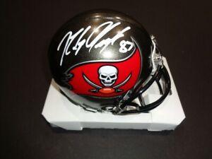 Rob Gronkowski Tampa Bay Buccaneers Autographed Riddell Speed Mini Helmet w COA