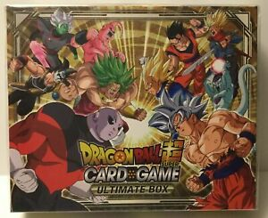 Dragon Ball Super CCG Ultimate Box NEW SEALED BINDER PAGES FOIL LEADERS!