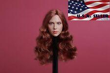 1/6 Scarlett Johansson 7.0 Black Widow Head For Hot Toys Phicen Figure ❶USA❶
