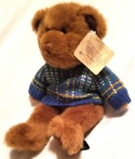 """Russ Plush Bear From The Past Collection Fully Jointed 9"""" Stuffed Animal"""
