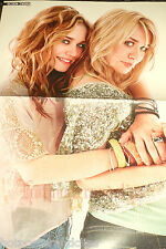 Sexy Olsen Twins Poster wow Rückseite ist cool guy Tre