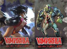 Breygent All New Vampirella 2012 Promo 1 & Promo 2 Trading Card Set