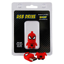 Spider-Man 2GB Flash Drive. USB Memory Stick Avengers Spiderman Gift for Fan