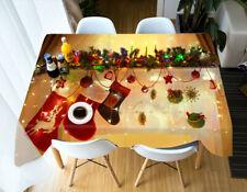3D Christmas Socks A77 Christmas Tablecloth Table Cover Cloth Birthday Party Zoe