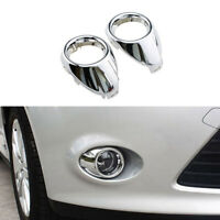 Car Styling Front Fog Lamp Light Frame Modified Decoration Cover For Focus JE