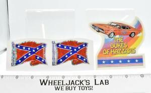 Dukes Of Hazzard Lot of 3 Stickers Warner Bros