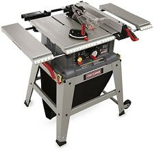 Craftsman Table Saw Laser Trac Precision Speed Clean Cut 15 Amp Motor 5,000 RPM