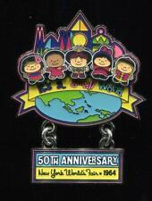 Small World 50th Anniversary New York World's Fair 1964 UNICEF Disney Pin 100574