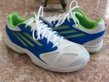 New Adidas Adituff Feather Team 2 Men's White Blue Green Handball Shoes Size 7.5