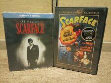 Scarface Blu-ray + Digital Steelbook NEW.Bonus:Original Scarface Movie