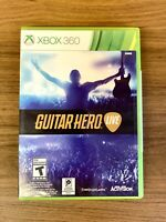 Guitar Hero Live (Game Only) Xbox 360 - Factory Sealed Rated T