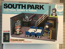 McFarlane South Park CARTMAN KENNY & TOKEN - CARTMAN'S BASEMENT CONSTRUCTION SET