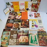 Huge Lot of 24 Vintage Promo Recipe Booklets 1950's to 1970's Weber, 7UP, Lipton