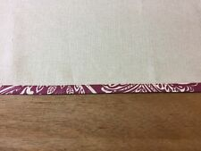 "(William Morris Style) Hathaway Claret  25mm/ 1"" Bias Binding By The Metre"