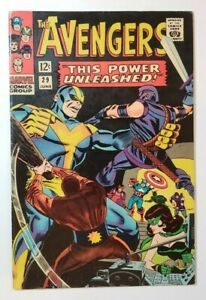 """Avengers #29 FN- 5.5 """"This Power Unleashed!"""" by Stan Lee & Don Heck!"""