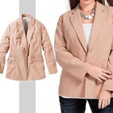 Puder Rosa Basic BLAZER Gr.48/50 Casual Büro Business Anzug-Jacke Casual