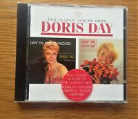 DORIS DAY Day In Hollywood / Show Time 1994 UK 2 ON 1 CD ALBUM EASY VOCAL