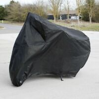 Motorbike Cover Large Cover Tarpaulin Outdoor Shelter Waterproof Protect