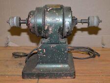 Antique Steiner Coffee grinder electric motor industrial steampunk cast base
