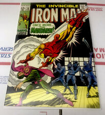 The Invincible IRON MAN # 10 The MANDARIN VFine Superb ! Many Listed Combined