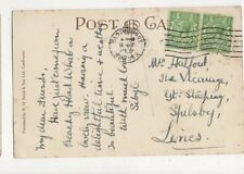 Mrs Halford The Vicarage Great Steeping Spilsby 1931 489a