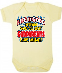 Baby One Piece Baby Romper Baby Bodysuits Jumpsuits GODPARENTS