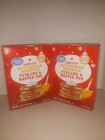Buttermilk Sprinkle Pancake & Waffle Mix by Great Value (2 boxes) 16 oz. Each