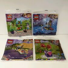 (008A) LEGO® Friends 4 Polybags 30112, 30205, 30399, 30408 NEU & OVP