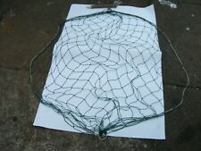 "FIVE RABBIT PURSE NETS WITH PEGS ABOUT 45 "" LONG 16 MESHS WIDE 2 "" KNOT TO KNOT"