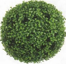 "13"" ARTIFICIAL BOXWOOD BALL OUTDOOR UV TOPIARY PLANT BUSH POOL PATIO DECK TREE 1"