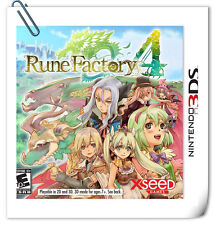 3DS RUNE FACTORY 4 Nintendo Xseed Games Strategy