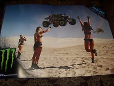 NEW MONSTER ENERGY DRINK Double Sided Poster (22 x 15.5)WAYLAND CAMPBELL