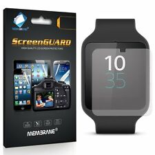 3 Clear Anti Scratch Screen Cover for Sony Smartwatch 3 (SWR50)