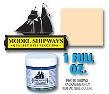 Model Shipways 1 oz. Bottle - Tallow Paint for Wood Models & Historic Ships