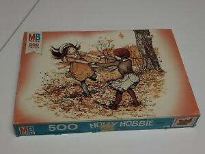 Rare Vintage Holly Hobbie Hobby 500 Piece Puzzle Milton Bradley MB Complete 1975