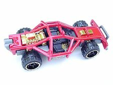 Red with GOLD ENGINE & TRIM Detail ROLL CAGE Hot Wheels CREATURE CAR New LOOSE