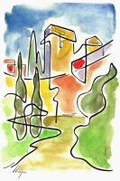 Llop - Tarragona muralla - litografia 30x21 edició limitada